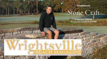 McGraw Hardscapes in Wrightsville Beach Magazine